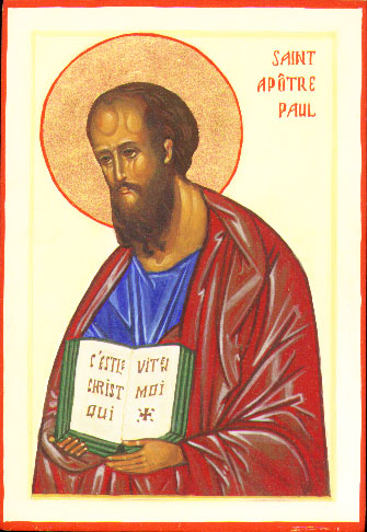 Saint Apôtre Paul