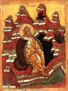 Icône de saint Élie