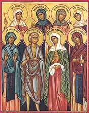 Synaxe de femmes saintes